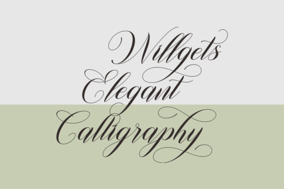 Print on Demand: Willgets Script & Handwritten Font By softcreative50 - Image 6
