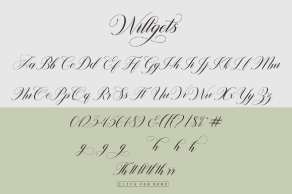 Print on Demand: Willgets Script & Handwritten Font By softcreative50 - Image 8
