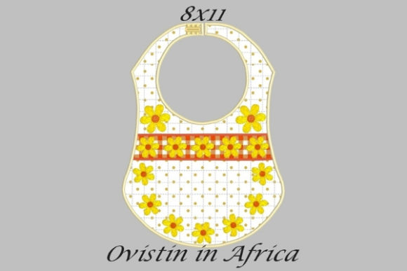 Download Free Yellow Flowers Adorable Baby Bib Large Creative Fabrica for Cricut Explore, Silhouette and other cutting machines.