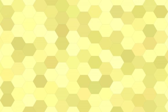 Yellow Hexagon Polygon Background Graphic Backgrounds By davidzydd