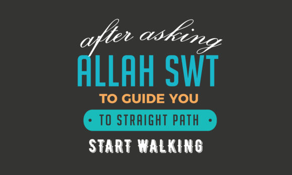 Print on Demand: After Asking Allah SWT to Guide You Graphic Illustrations By baraeiji