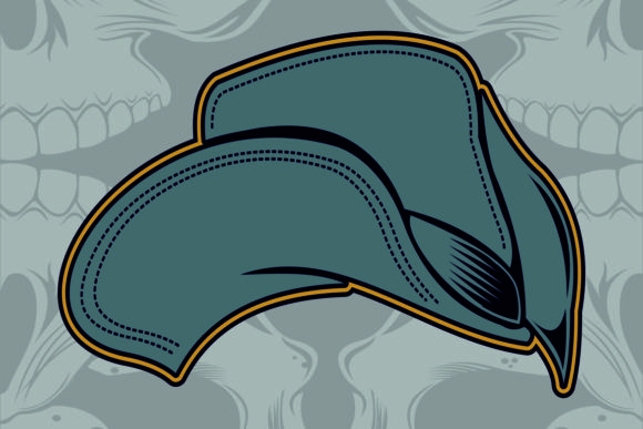 Cap,trucker Hand Drawing Graphic Illustrations By Epic.Graphic