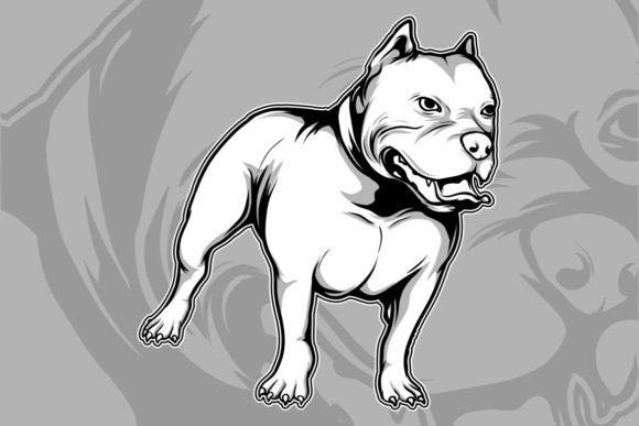 Dog Breeds the American Graphic Illustrations By Epic.Graphic