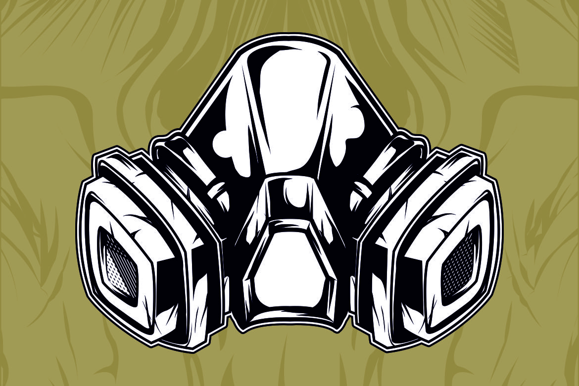 Gas Mask Graphic By Epic Graphic Creative Fabrica