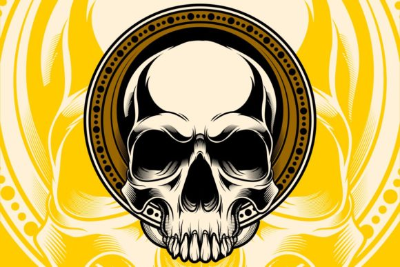 Head Skull Graphic Illustrations By Epic.Graphic