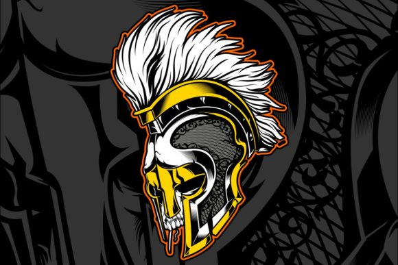 Helmet Gladiator Vector Graphic Illustrations By Epic.Graphic