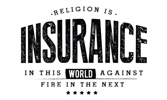 Religion Is Insurance In This World Graphic By Baraeiji