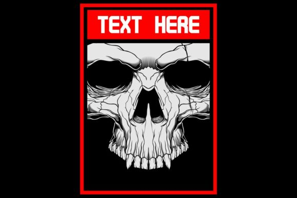 Download Free Skull Face Graphic By Epic Graphic Creative Fabrica for Cricut Explore, Silhouette and other cutting machines.