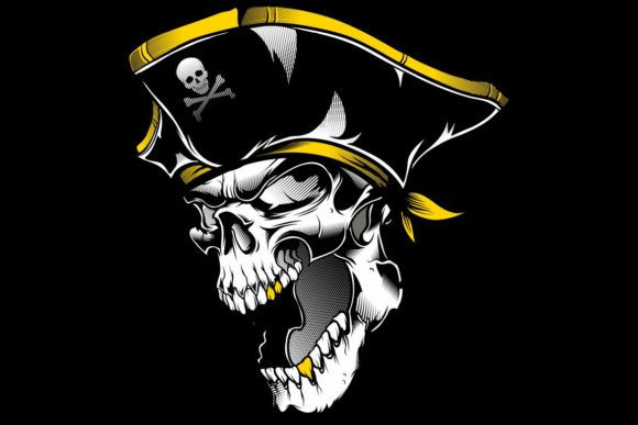 Skull Pirate Graphic Illustrations By Epic.Graphic