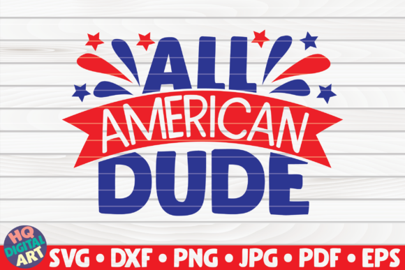 Download Free All American Dude Graphic By Mihaibadea95 Creative Fabrica for Cricut Explore, Silhouette and other cutting machines.