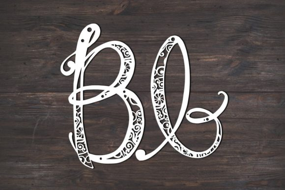 Download Free B Monogram Mandala Graphic By Fortunasvg Creative Fabrica for Cricut Explore, Silhouette and other cutting machines.