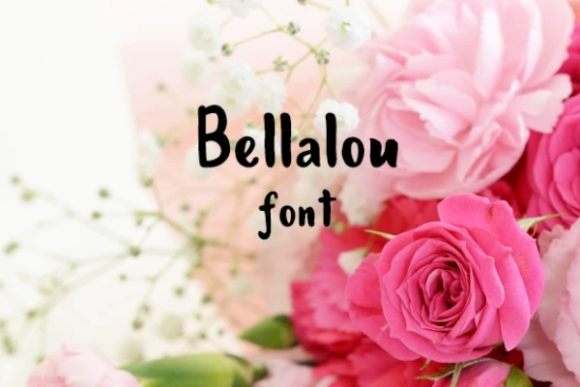 Download Free Bellalou Font By Carina2 Creative Fabrica for Cricut Explore, Silhouette and other cutting machines.