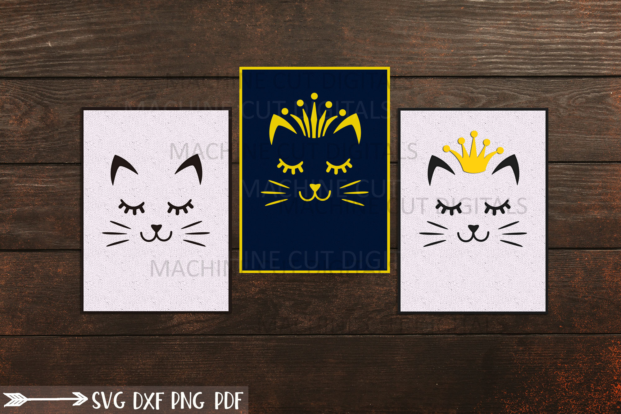 Download Free Birthday Cat Lover Greeting Card Graphic By Cornelia Creative for Cricut Explore, Silhouette and other cutting machines.