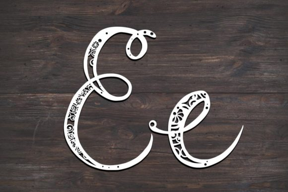 Download Free E Monogram Mandala Graphic By Fortunasvg Creative Fabrica for Cricut Explore, Silhouette and other cutting machines.