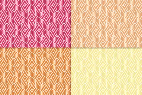 Download Free Essentials Hexagons 3 Digital Paper Graphic By Khdigi for Cricut Explore, Silhouette and other cutting machines.