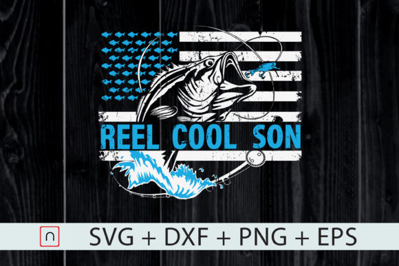 Print on Demand: Reel Cool Son Graphic Print Templates By Novalia
