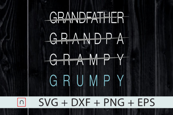 Download Free Funny Grumpy Grandfather Father S Day Graphic By Novalia for Cricut Explore, Silhouette and other cutting machines.
