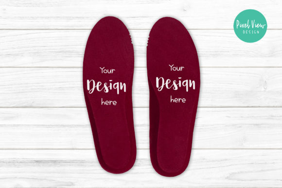 Download Free Insole Mockup Graphic By Pixel View Design Creative Fabrica for Cricut Explore, Silhouette and other cutting machines.