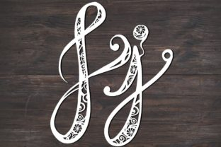 Download Free J Monogram Mandala Graphic By Fortunasvg Creative Fabrica for Cricut Explore, Silhouette and other cutting machines.