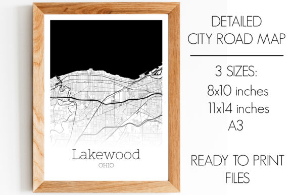 Download Free Cleveland Heights Ohio City Map Graphic By Svgexpress Creative SVG Cut Files