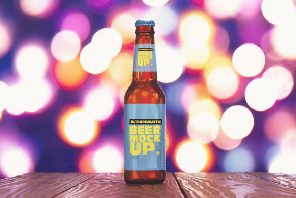 Download Free Light Blur Beer Mockup Graphic By Smartdesigns Creative Fabrica for Cricut Explore, Silhouette and other cutting machines.