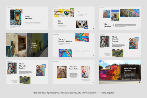Download Free Muralist Keynote Graphic By Temp Here Creative Fabrica SVG Cut Files