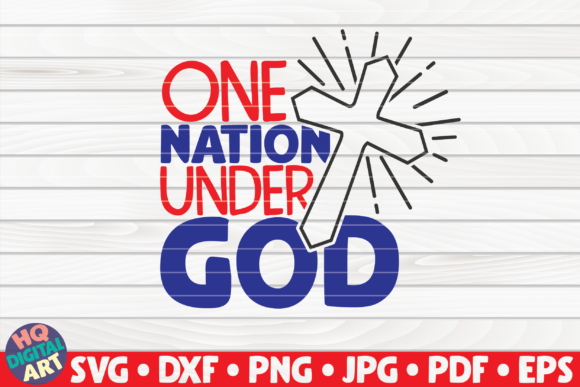 One Nation Under God Graphic Crafts By mihaibadea95