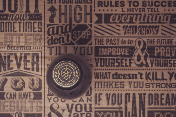Download Free Paperboard Beer Cap Mockup Graphic By Smartdesigns Creative for Cricut Explore, Silhouette and other cutting machines.
