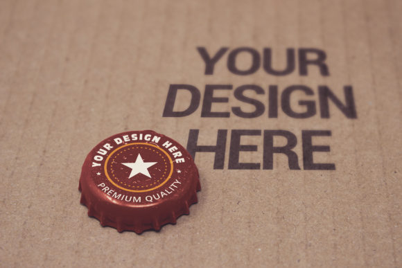 Download Free Paperboard Bottle Cap Mockup Graphic By Smartdesigns Creative for Cricut Explore, Silhouette and other cutting machines.