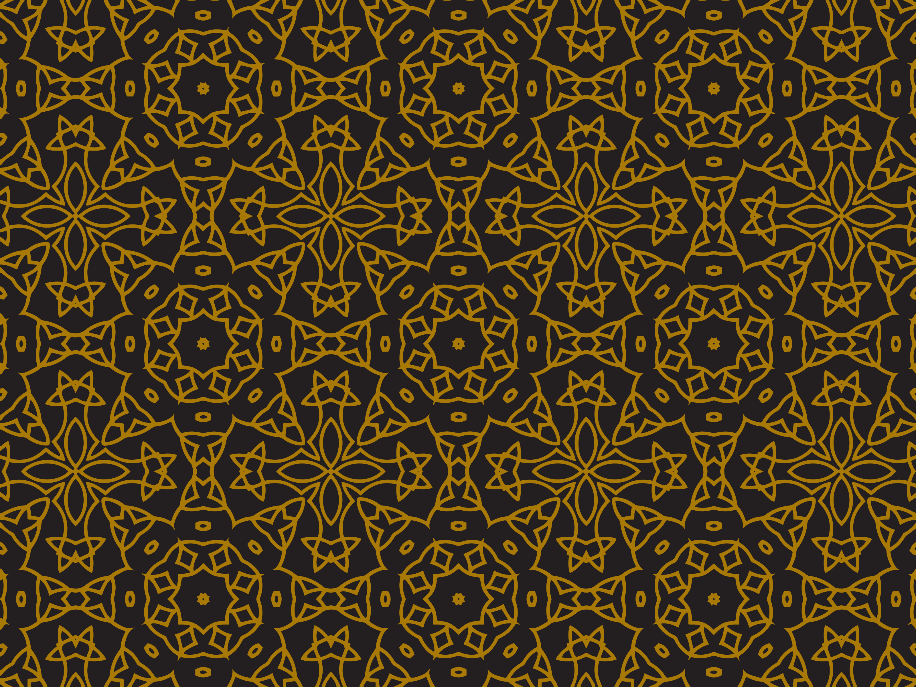 Download Free Pattern Gold Abstract Ornament Graphic By Silkymilkycreative for Cricut Explore, Silhouette and other cutting machines.