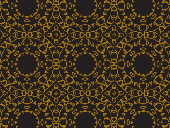 Download Free Pattern Gold Black Circle Texture Graphic By Silkymilkycreative for Cricut Explore, Silhouette and other cutting machines.