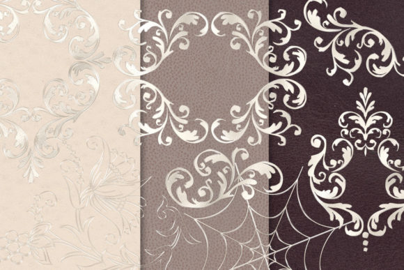 Print on Demand: Pearl Ornament Clipart Graphic Illustrations By Digital Curio - Image 2