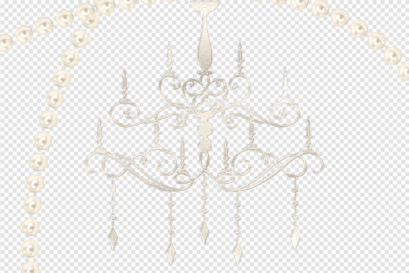 Print on Demand: Pearl Ornament Clipart Graphic Illustrations By Digital Curio - Image 3