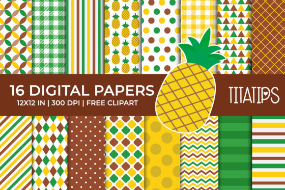 Download Free Bumblebee Digital Papers Set Graphic By Titatips Creative Fabrica SVG Cut Files