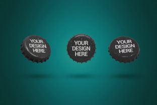 Print on Demand: Trio Cap Clean Mockup Graphic Product Mockups By SmartDesigns 1