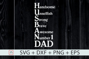 Print on Demand: Valentine Gift for Husband, Awesome Dad Graphic Print Templates By Novalia