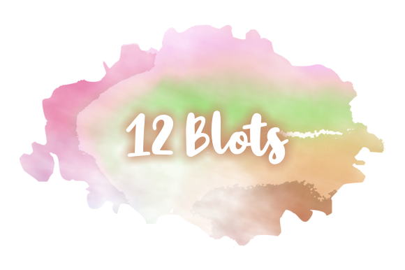 Print on Demand: Watercolor Ink Blots & Splashes Graphic Backgrounds By Prawny - Image 3