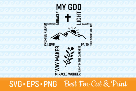 Waymaker Miracle Worker God Christ Graphic Crafts By OlimpDesign