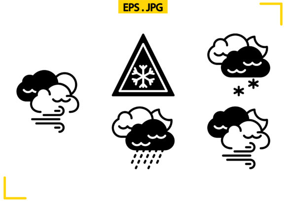 Weather Solid Graphic Icons By raraden655