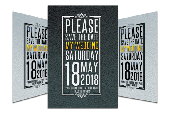 Download Free Wedding Invitation 3 Graphic By Matthew Design Creative Fabrica for Cricut Explore, Silhouette and other cutting machines.