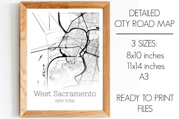 Download Free West Sacramento California City Map Graphic By Svgexpress for Cricut Explore, Silhouette and other cutting machines.