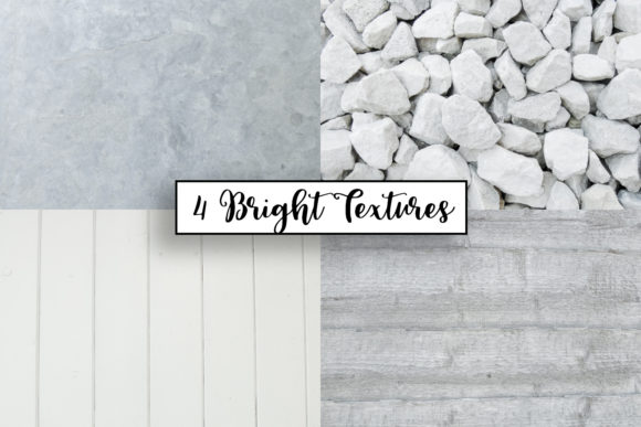 Print on Demand: White Wood | White Stones | White Fence Graphic Textures By illuztrate