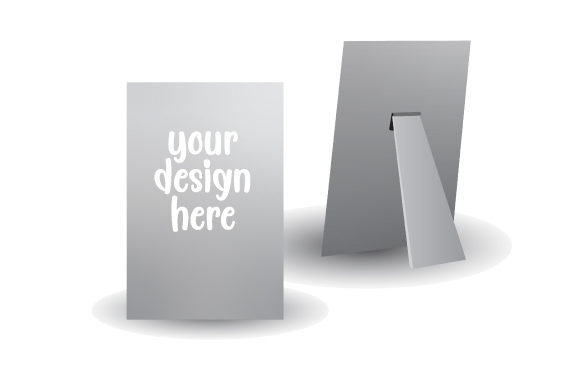 Sublimation Aluminum Panel Mockup Designs & Zeichnungen Plotterdatei von Creative Fabrica Crafts