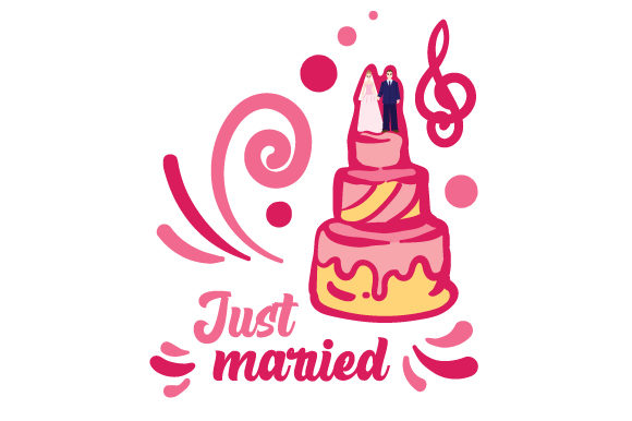 Download Free Just Married Svg Cut File By Creative Fabrica Crafts Creative for Cricut Explore, Silhouette and other cutting machines.