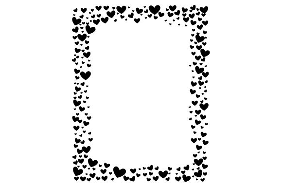 Hearts Frame Designs & Drawings Craft Cut File By Creative Fabrica Crafts - Image 2