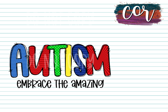 Download Free Autism Embrace The Amazing Graphic By Designscor Creative Fabrica for Cricut Explore, Silhouette and other cutting machines.