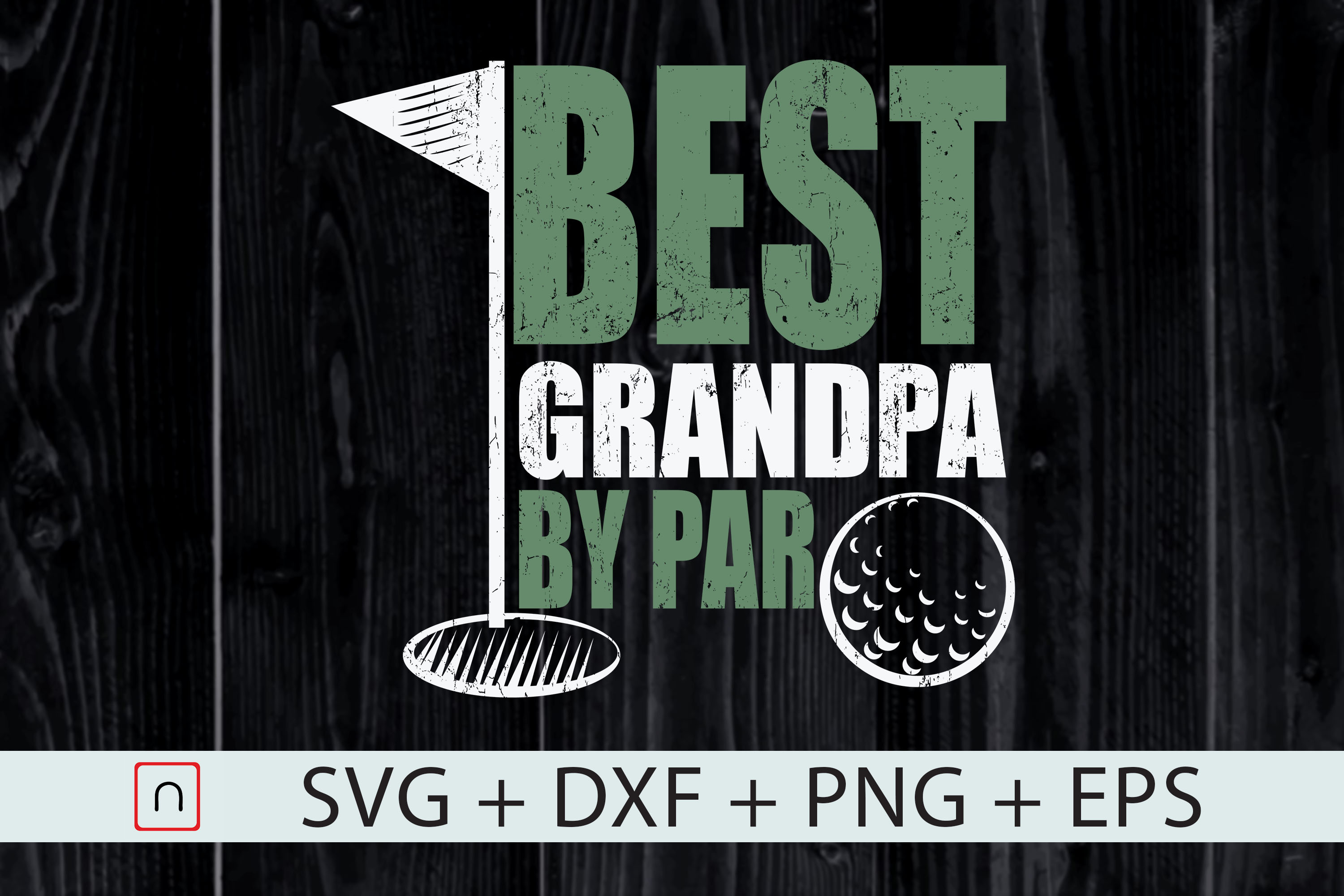 Best Grandpa By Par Father S Day Graphic By Novalia Creative