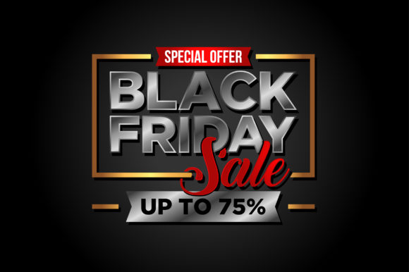 Black Friday Sale Banner Vector Template Graphic Print Templates By soponyono