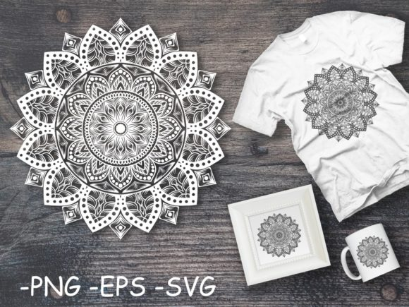 Download Free 5994 Mandala Designs Graphics for Cricut Explore, Silhouette and other cutting machines.