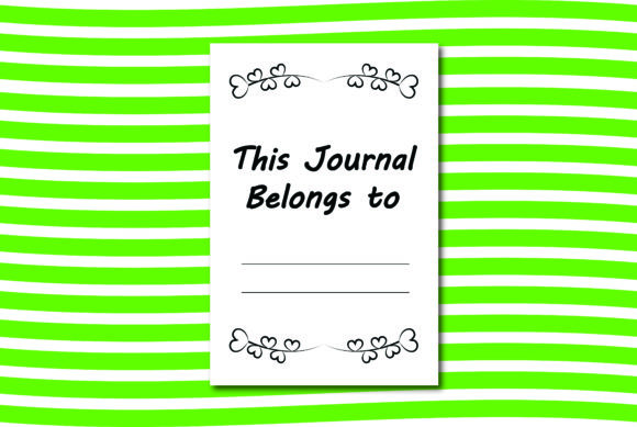 Print on Demand: Cute Journal Interior Graphic KDP Interiors By Ivana Prue - Image 2